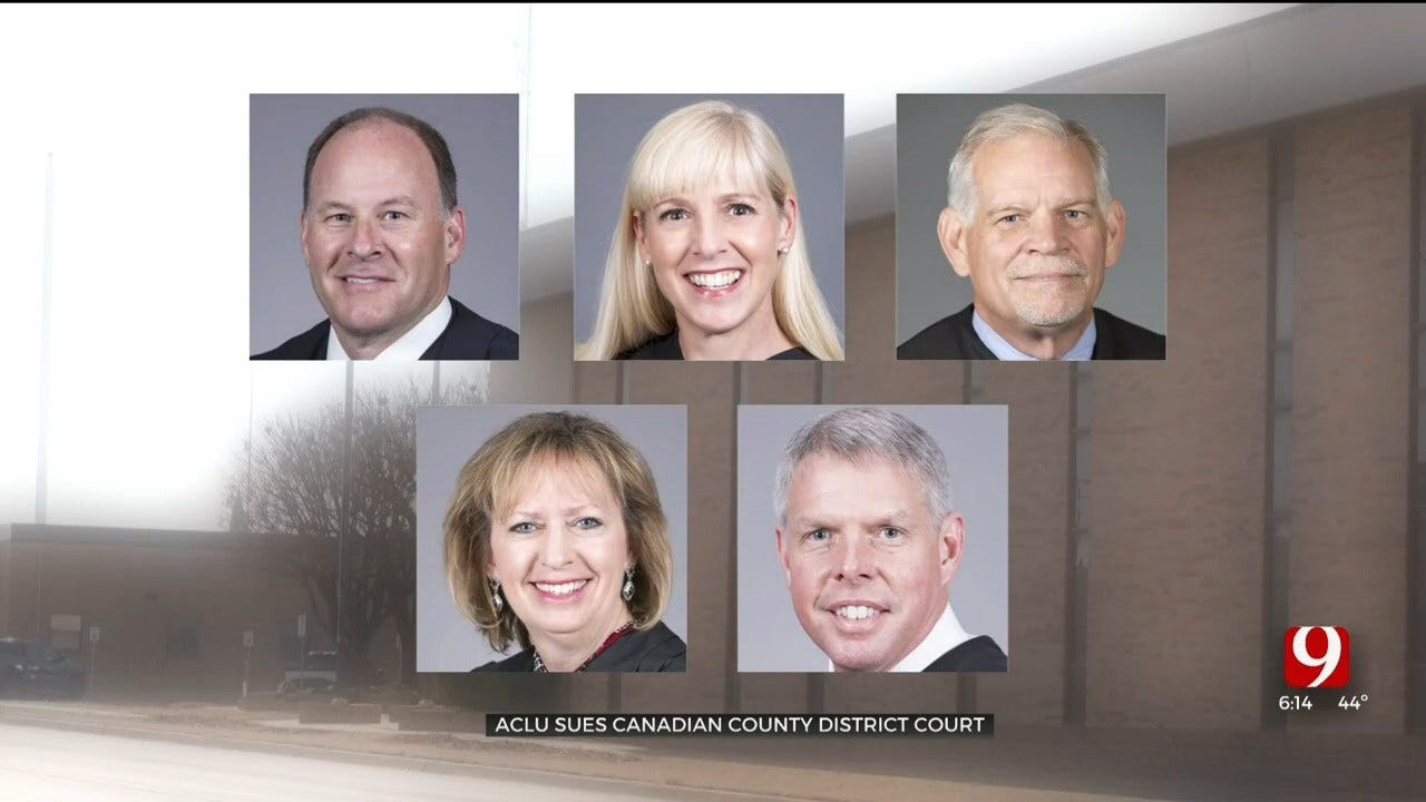ACLU Sues Canadian County District Court Over Bail System, Treatment Of Inmates