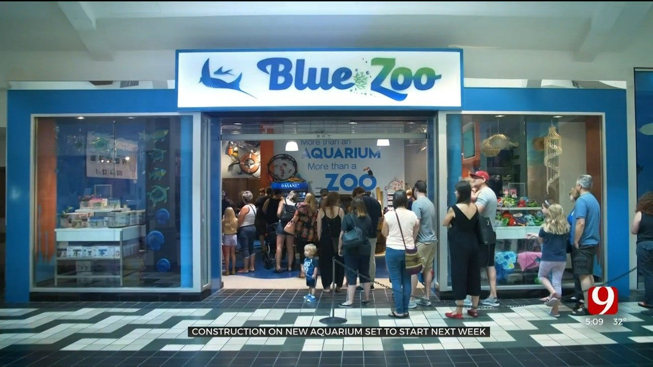 Construction On OKC's New Aquarium 'Blue Zoo' Set To Begin Next Week