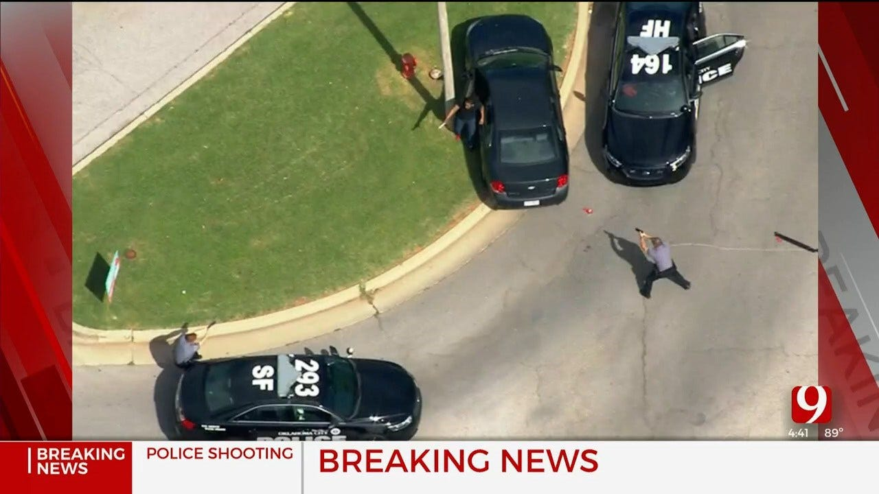 Suspect Shot By Police During Chase In NW OKC; Shooting Victim Has Died, Police Confirm