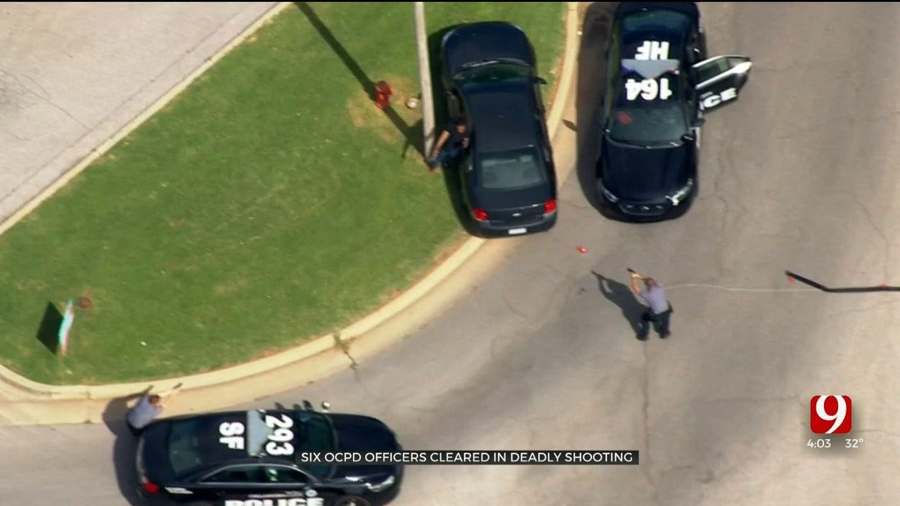 6 OKC Officers Cleared Of Wrongdoing In Deadly Shooting Of Murder Suspect