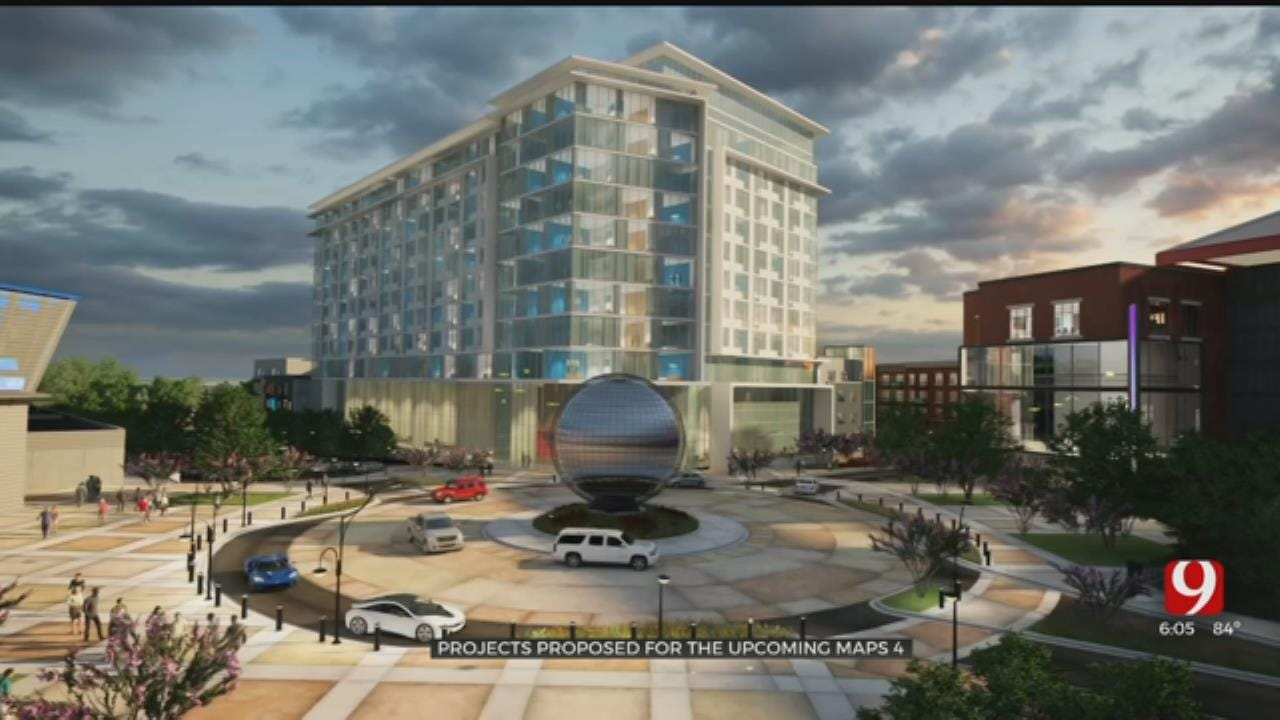 OKC City Council Announces 16 Projects Proposed For MAPS 4
