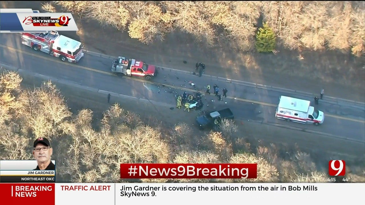 Critical Injuries Reported After Rollover Crash In SE OKC