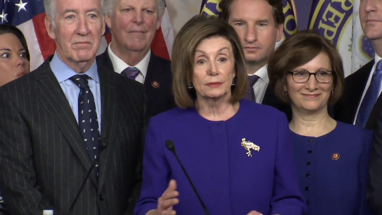 Pelosi On Impeachment, USMCA Announcements: 'No, It Is Not A Coincidence'