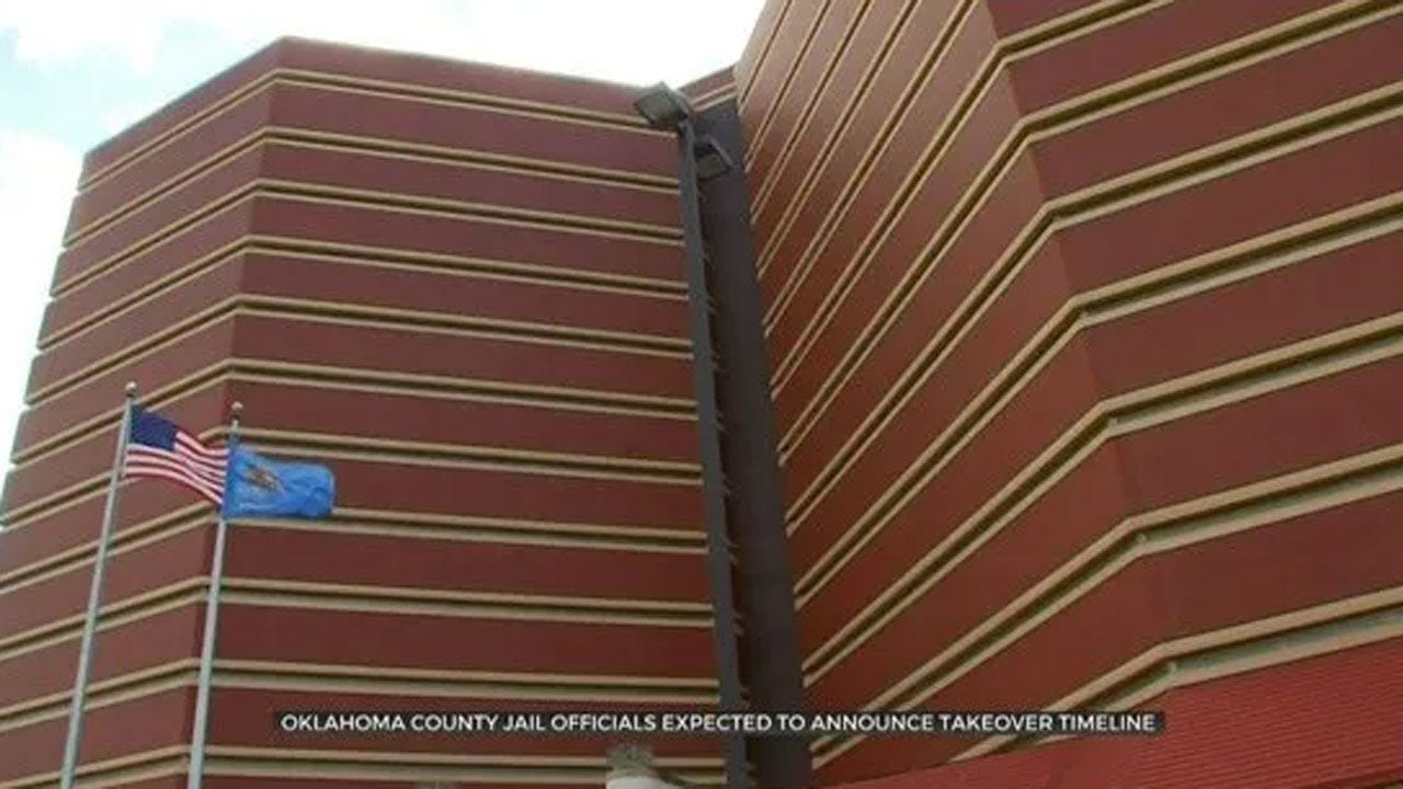 Oklahoma County Jail Officials Expected To Announce Takeover Timeline