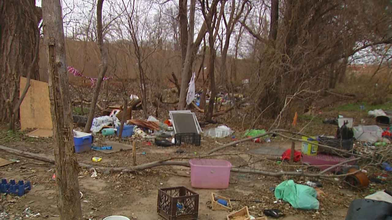 OKC Pastor Fears Losing Church Over Homeless Camp
