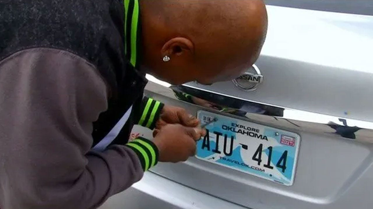 Lt. Governor Pinnell Says No New License Plates As Okla. Rebrands