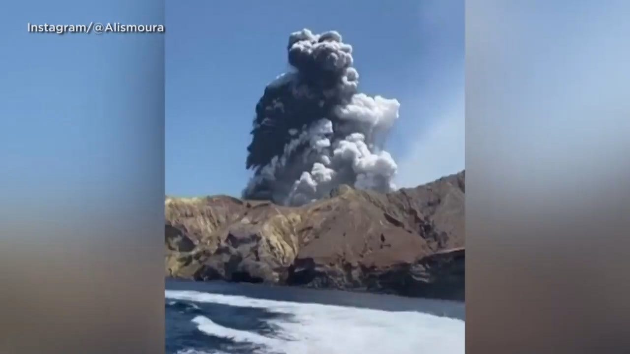 Tourists Missing After Deadly Eruption Of New Zealand Volcano
