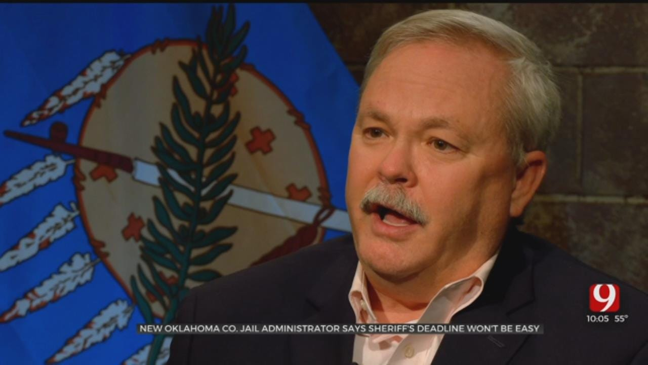 New Okla. County Jail Administrator Says Meeting Sheriff's Deadline To Take Over Won't Be Easy