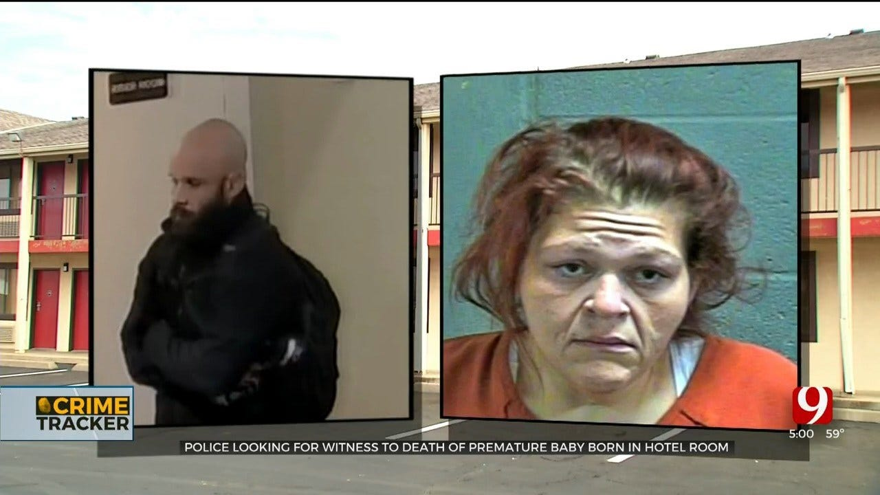 Mom Accused Of Child Neglect In Death Of Baby Born In OKC Hotel Room; Police Searching For Witness
