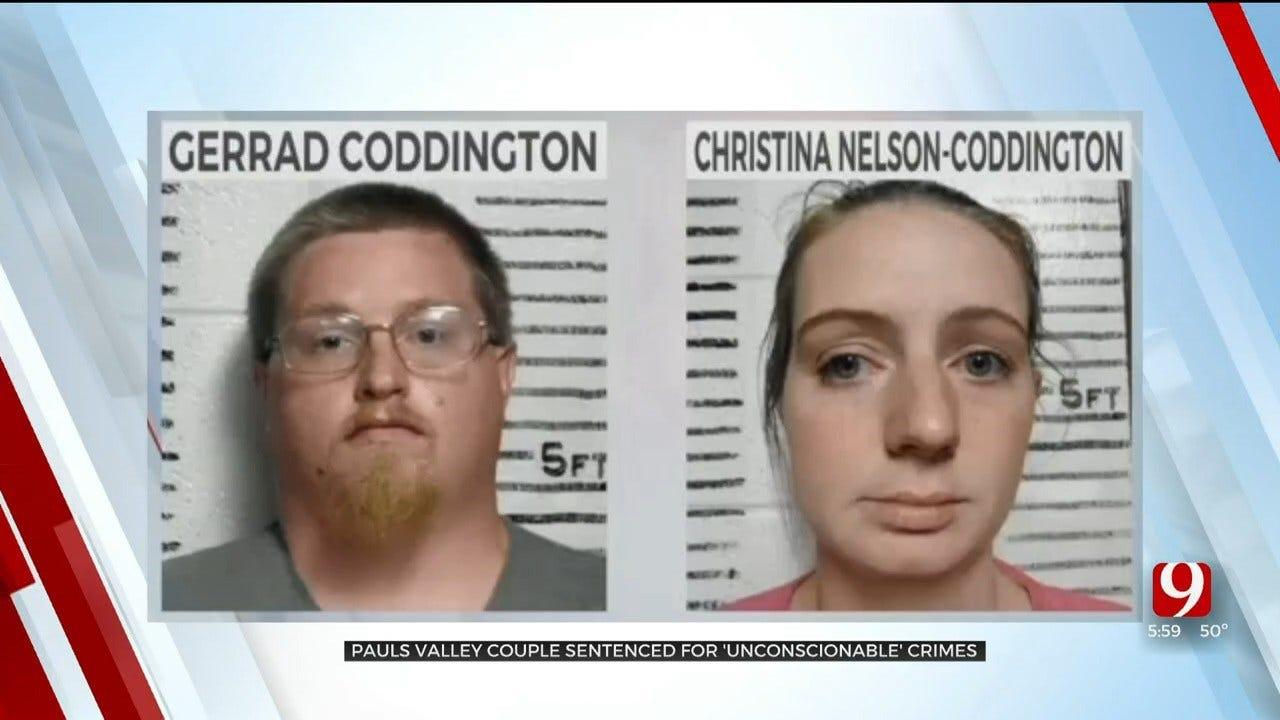 Pauls Valley Couple Sentenced For 'Unconscionable' Sex Crimes Against Children