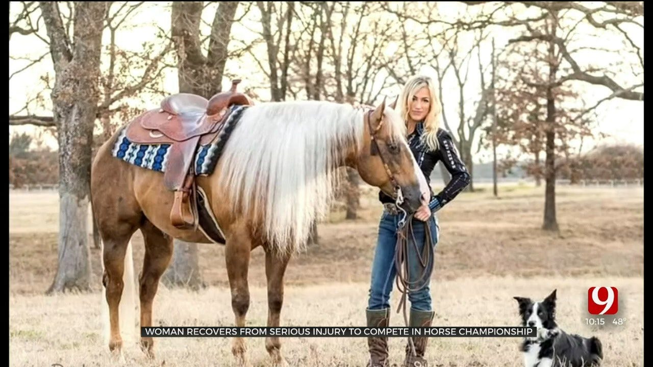 Woman Recovers From Serious Injury To Compete In Horse Championship