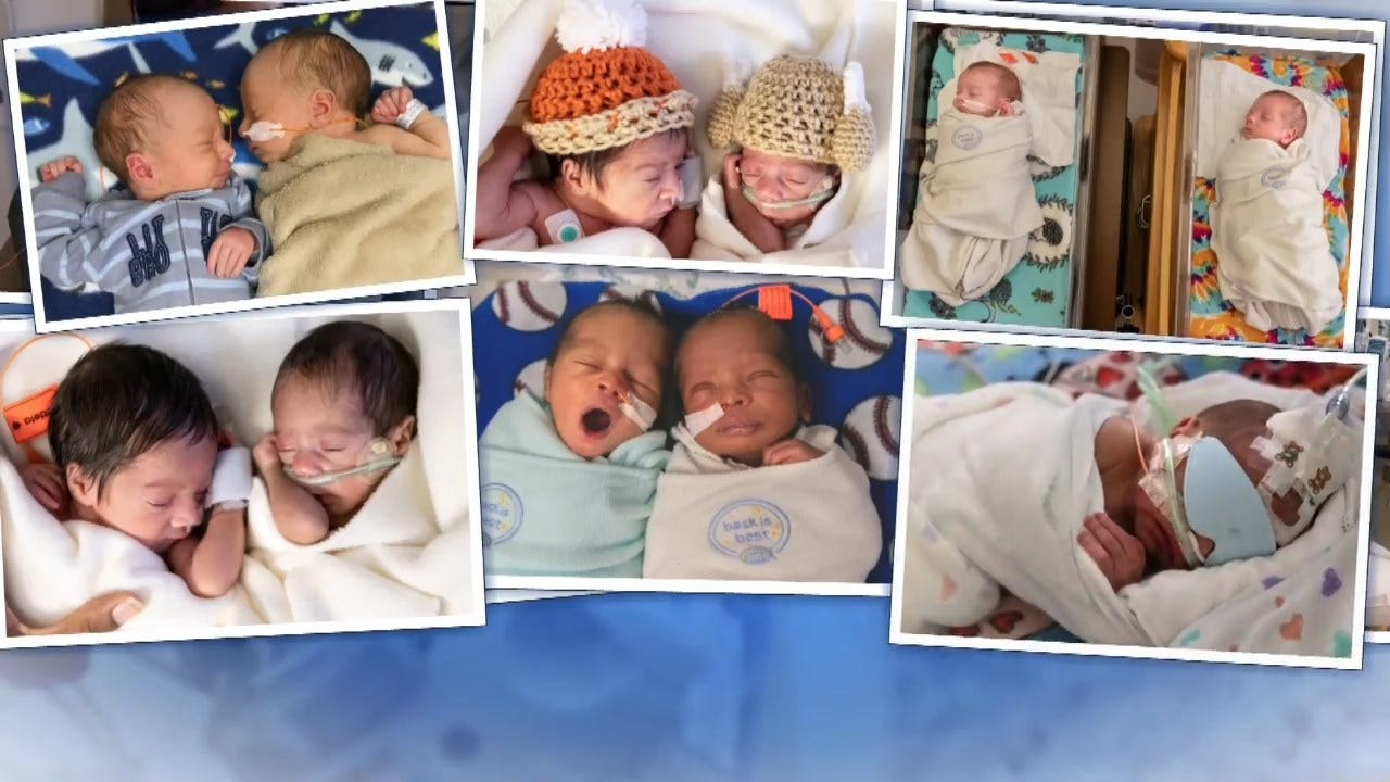 Seeing Double! Missouri Hospital Caring For 12 Sets Of Twins Born This Week