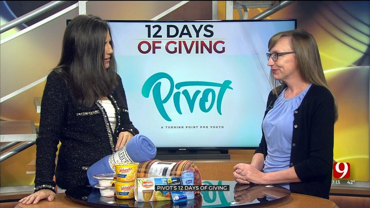Help Youth In Need With Pivot's 12 Days Of Giving