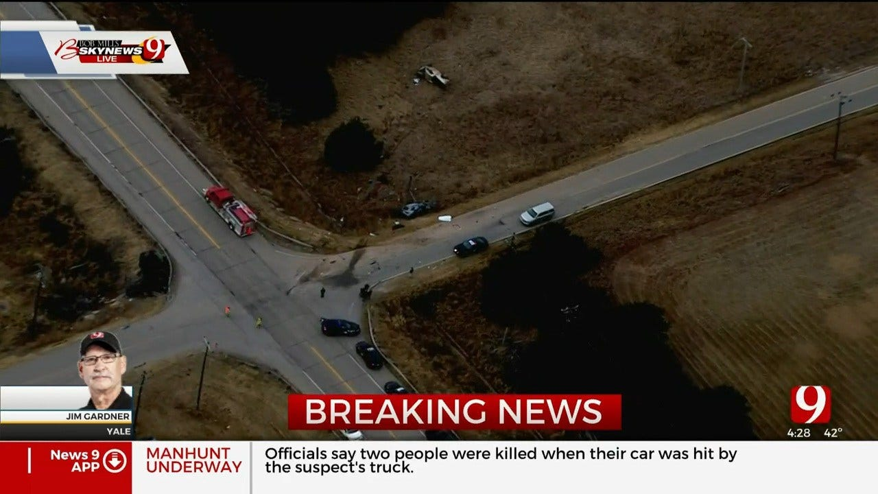 2 Killed In Crash; Highway 51 Near Yale Shut Down Due To Manhunt For Chase Suspect
