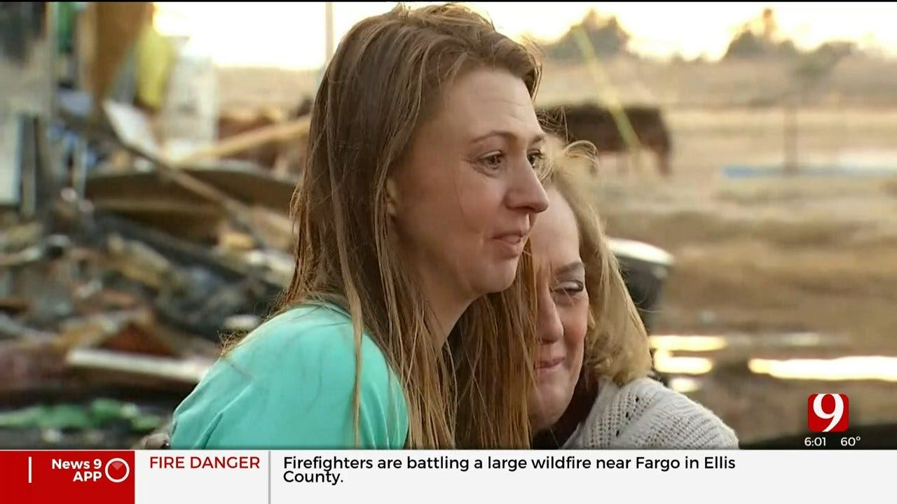 WATCH: Therapy Ranch For Girls Destroyed In Woodward County Wildfire