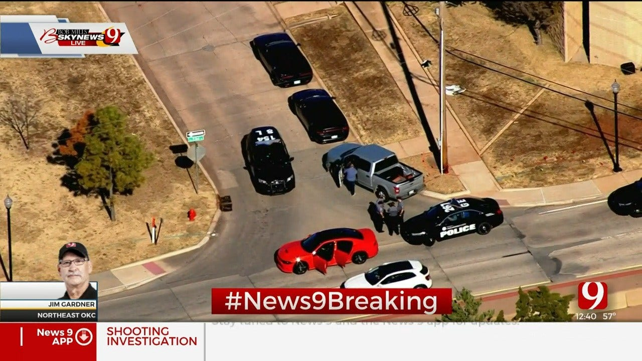 Vehicle Pulled Over Near Drive-By Shooting Investigation In NE OKC