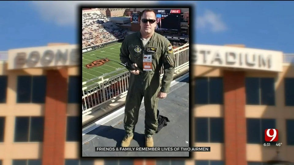 Friends Remember Airman Killed In Training Mission At Vance AFB