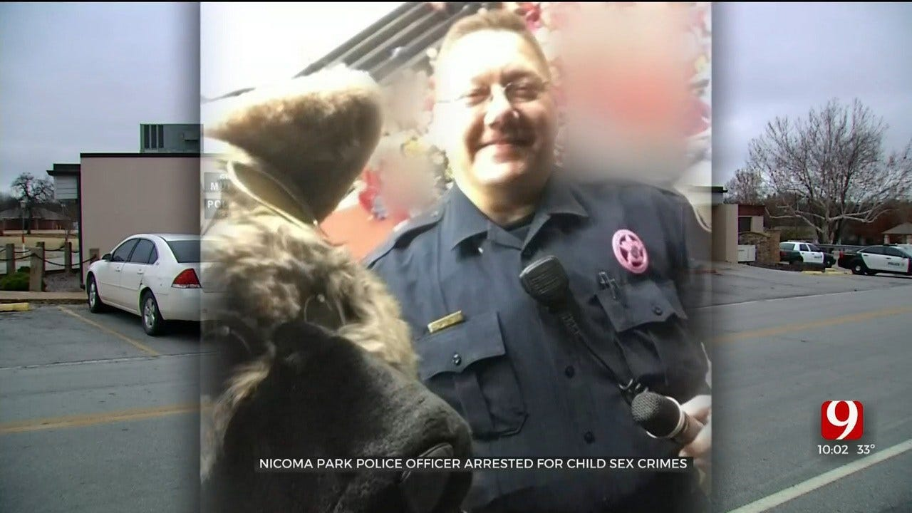 Nicoma Park Officer Arrested, Accused Of Child Sexual Abuse