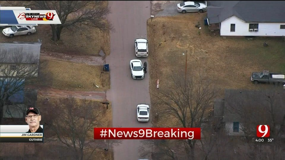 WATCH: Bob Mills SkyNews 9 HD Flies Over Inmate Escapee Search In Guthrie