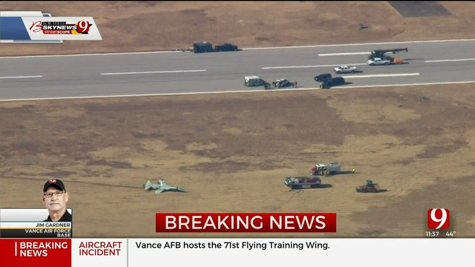 2 Killed In 'Aircraft Mishap' At Vance AFB, Air Force Officials Say