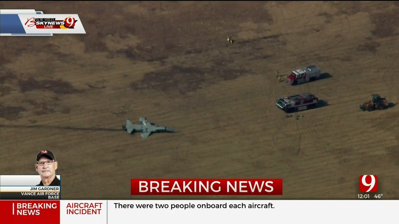 2 Killed In 'Aircraft Mishap' At Vance AFB, Officials Confirm