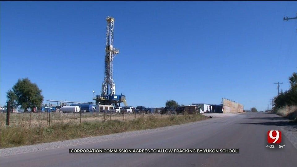 Yukon Parents Take Fight Over Fracking Well Near School To Corporation Commission