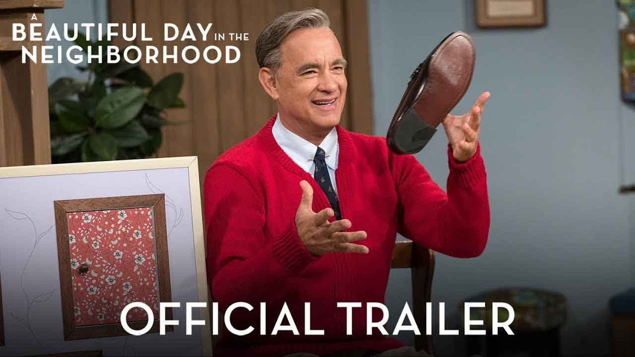 WATCH: Tom Hanks Brings Mr. Rogers To Life In 1st Trailer For 'A Beautiful Day In The Neighborhood'