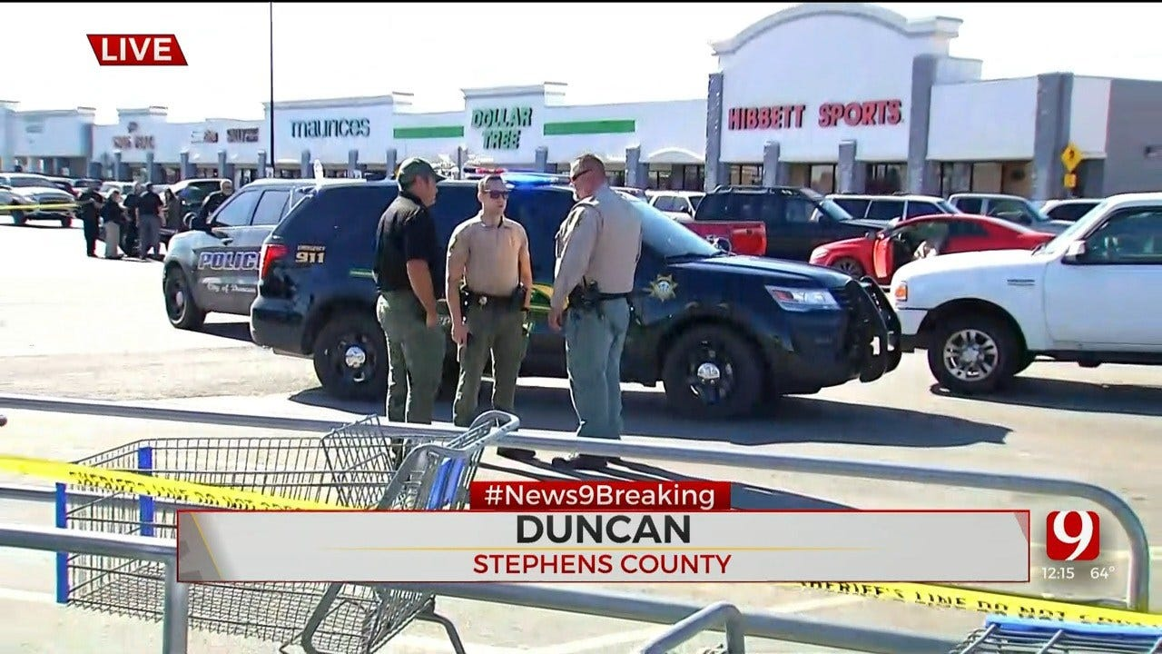 3 Dead After Shooting At Walmart Parking Lot In Duncan