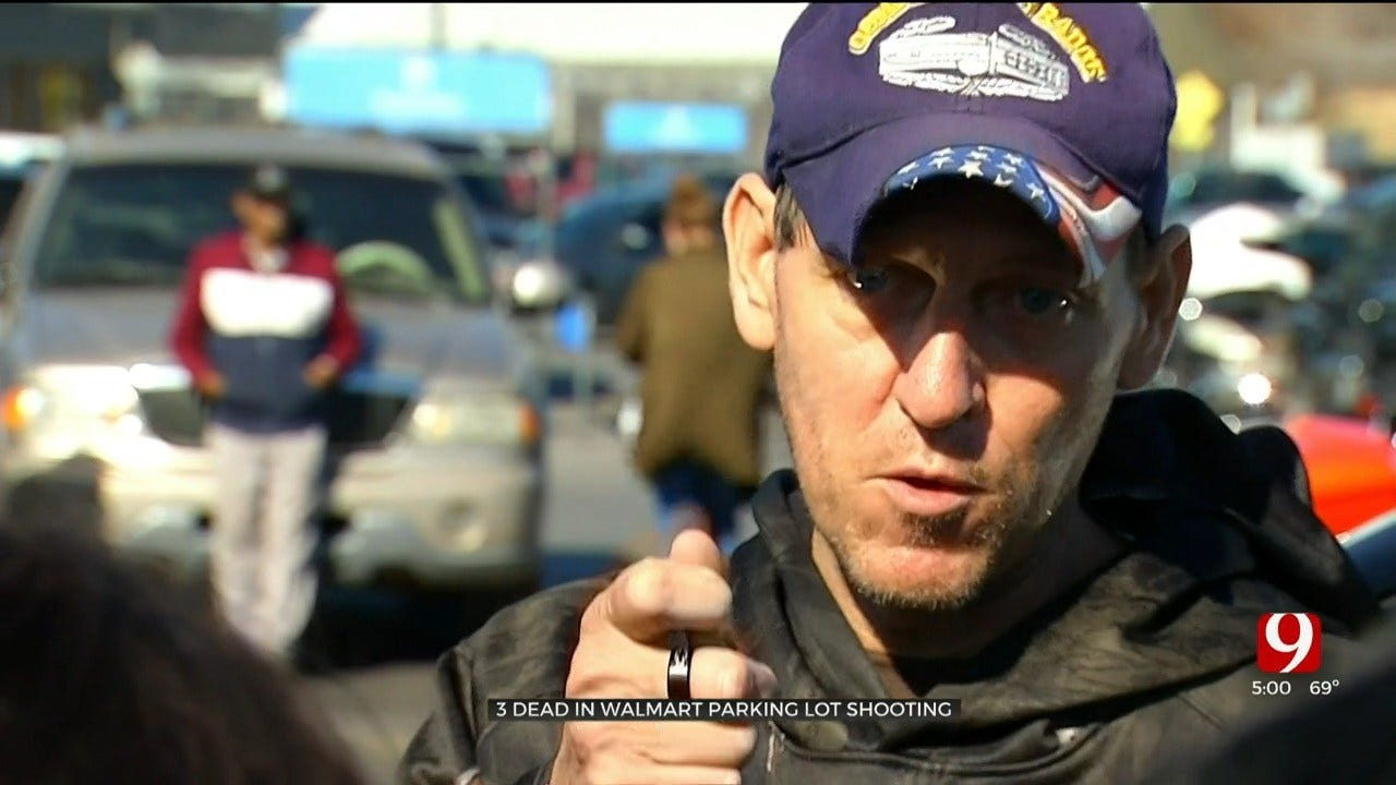 'It Was Very Scary': Witnesses Speak Out After Deadly Shooting At Duncan Walmart Parking Lot