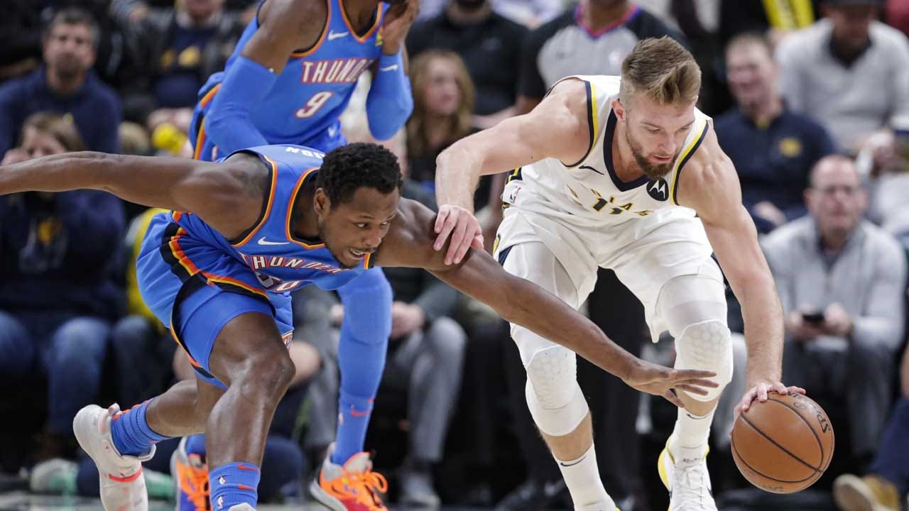 Thunder Goes Ice Cold In Indy, Lose 85-111