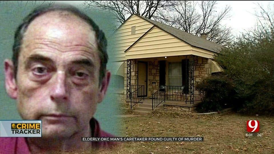 Caretaker Found Guilty Of Murdering OKC Elderly Man With Alzheimer's