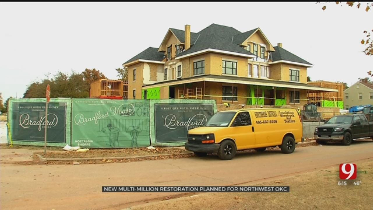 Restoration On OKC's Classen Blvd. A 'Passion Project' For Husband And Wife