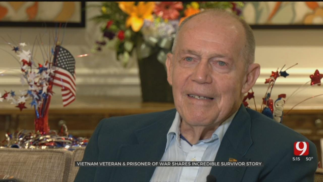 Oklahoma Vietnam Veteran, Prisoner Of War Shares Survivor Story