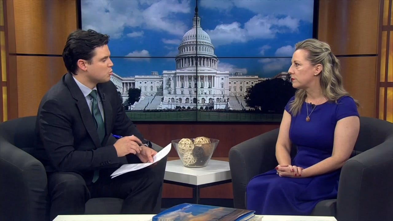 WATCH: Rep. Kendra Horn Talks Impeachment, Democratic Primary