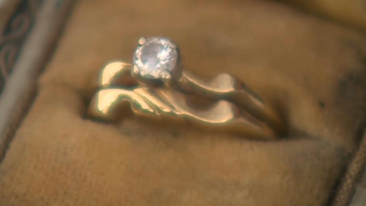 'Unbelievable': Firefighters Find Ring In Remains Of Getty Fire, Soon Learn It Survived A Much Earlier Fire