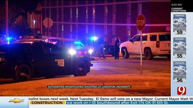 Authorities Investigate Shooting At Langston University