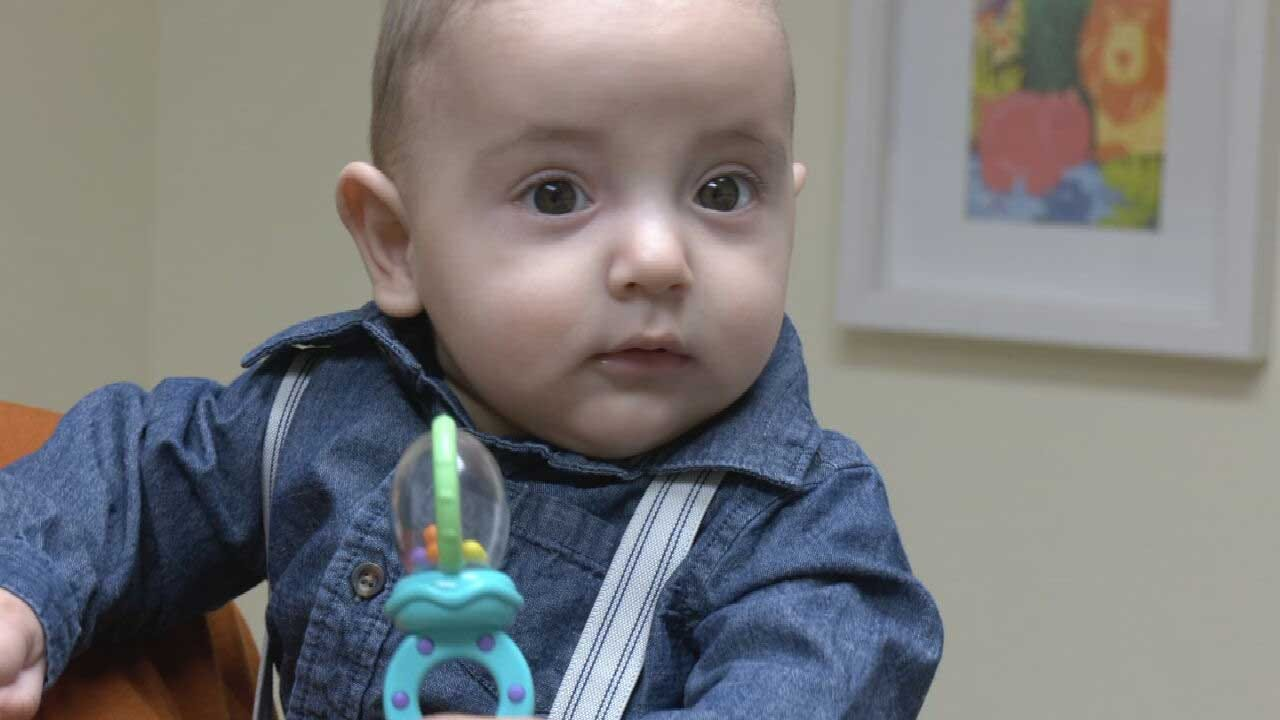 5-Month-Old First To Undergo Type Of Brain Surgery In Oklahoma