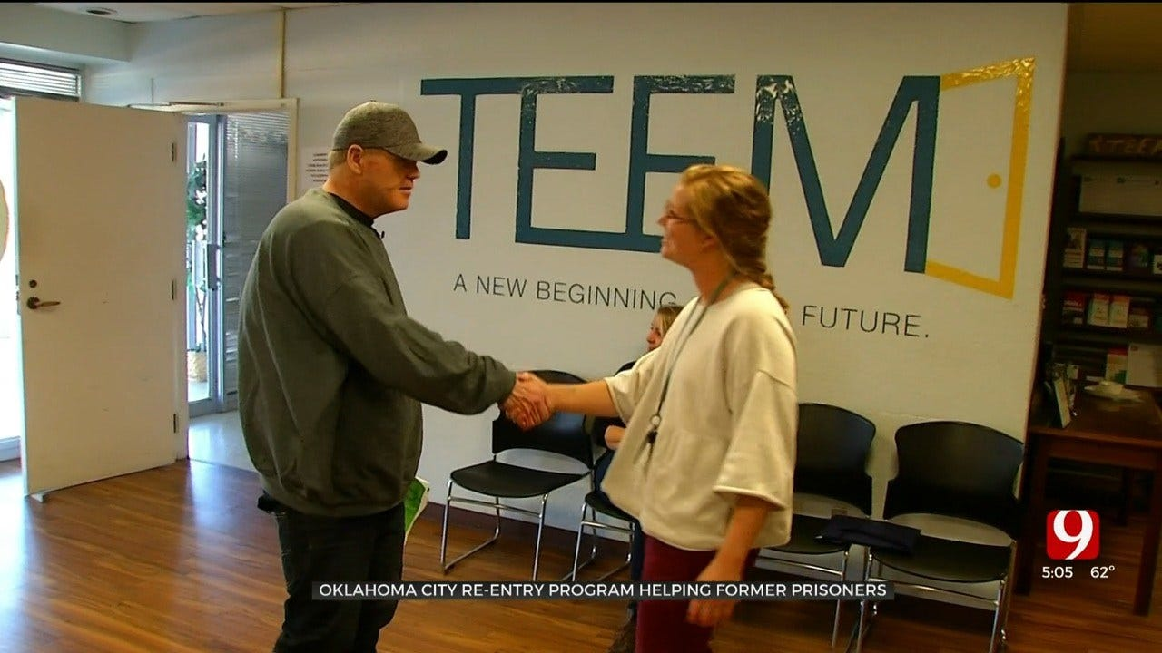 Former Okla. Inmate Enjoys First Day Of Freedom After Commutation, Joins OKC Re-Entry Program
