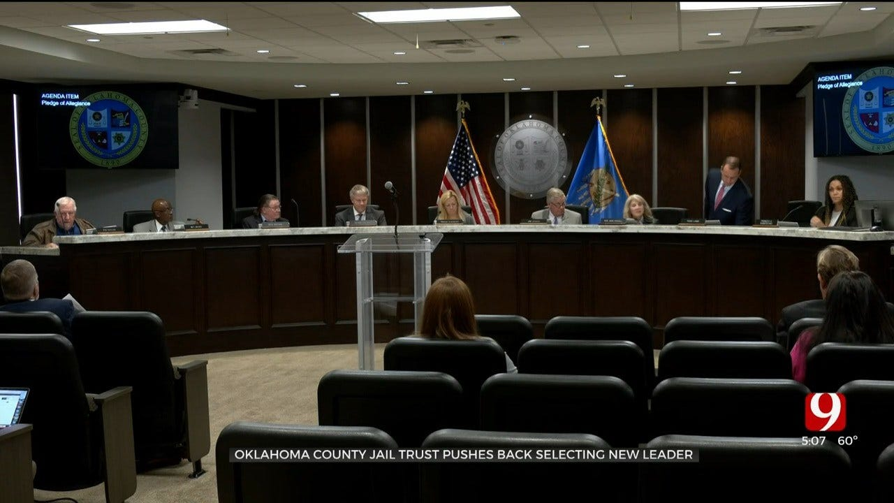 Oklahoma County Jail Trust Pushes Back Selecting New Administrator For 2nd Time