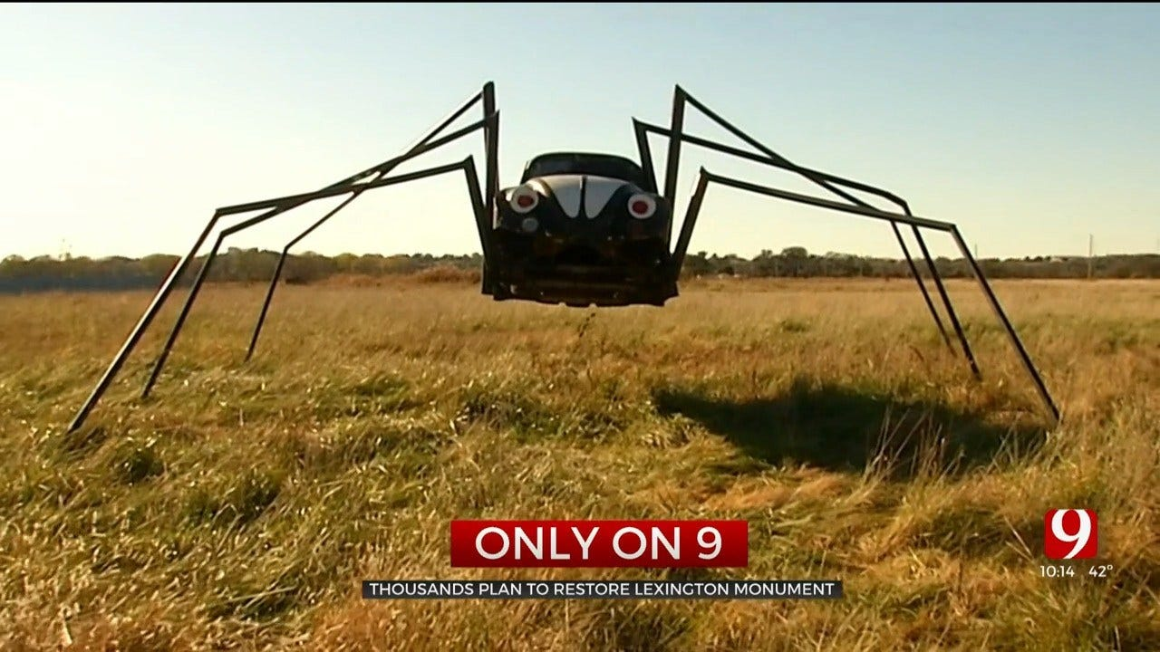 Group Gathering Support To Restore 'Spider Bug' Landmark Near Lexington