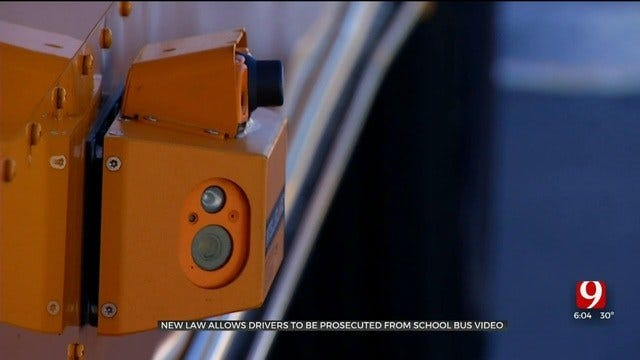 New Law Allows Drivers To Be Prosecuted From School Bus Video