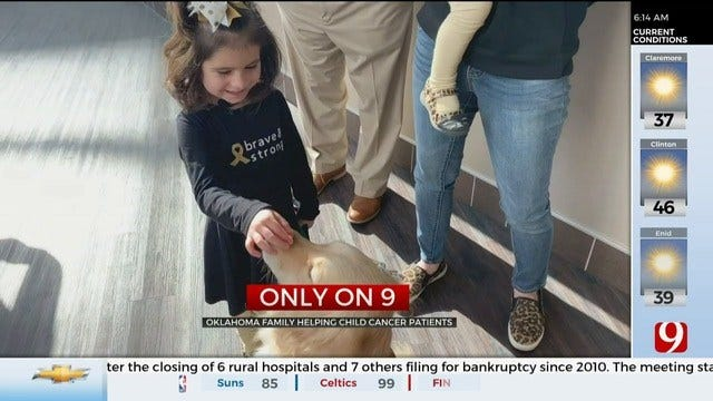 Oklahoma Family Helps Child Cancer Patients