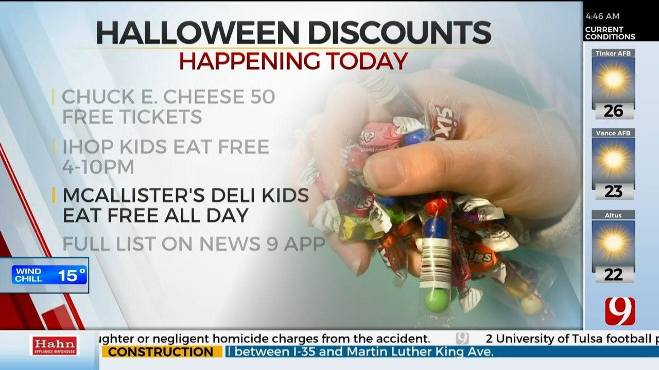 OKC Metro Restaurants Offering Spooky Deals On Halloween