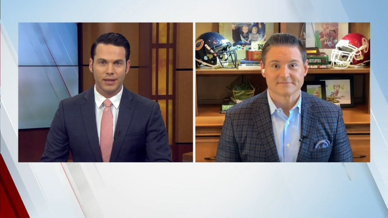 Dusty And News 9 Sports' Lee Benson Talk OU's Defense, OSU's Tough Matchup With TCU