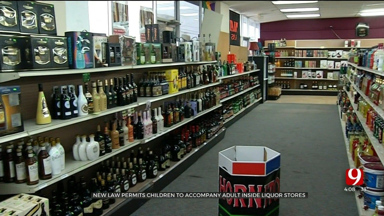 New Law Permits Children To Accompany Adult Inside Liquor Stores
