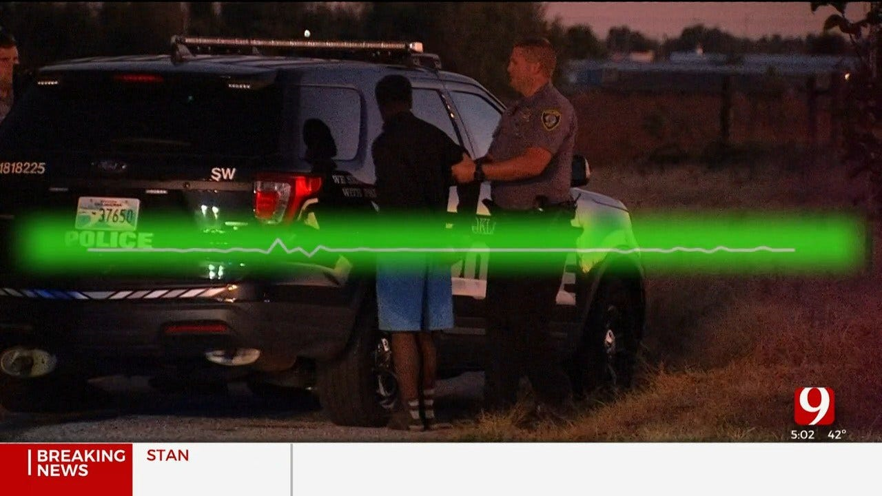 Helicopter, K-9 Unit Called For OKC Police Pursuit After Patrol Car Rammed; 6 Teens Arrested