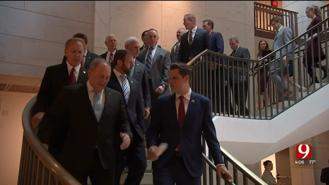 House Republicans Interrupt Impeachment Testimony
