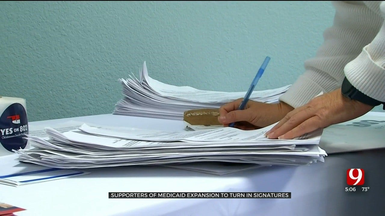 Supporters Of Medicaid Expansion To Turn In Petition Signatures