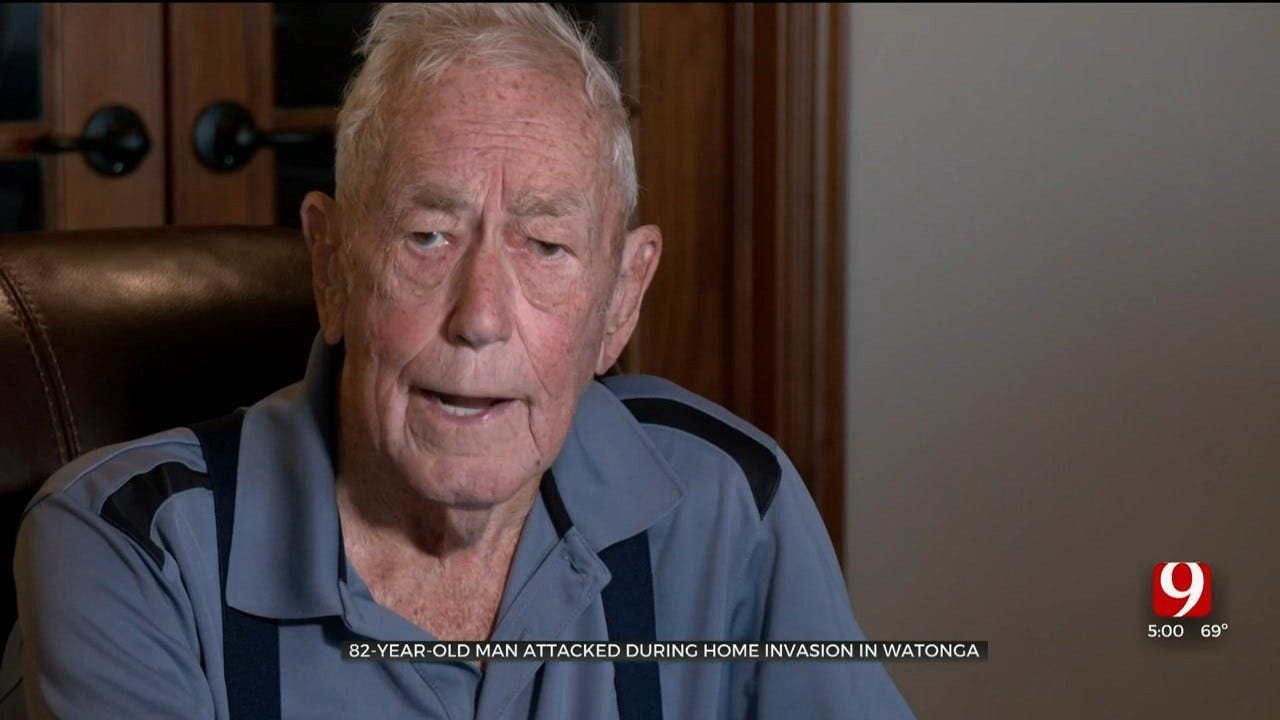 82-Year-Old Watonga Man Recovering After Knocked Unconscious, Truck Stolen In Violent Home Invasion