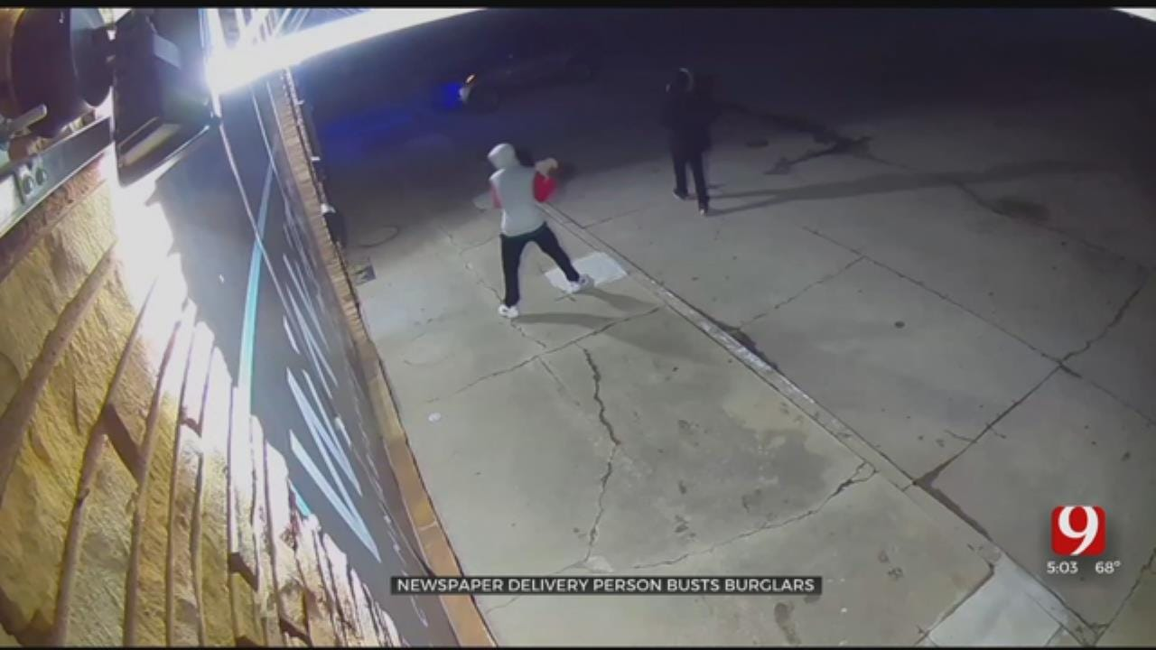Caught On Camera: 2 Neighboring OKC Dispensaries Targeted By Burglars